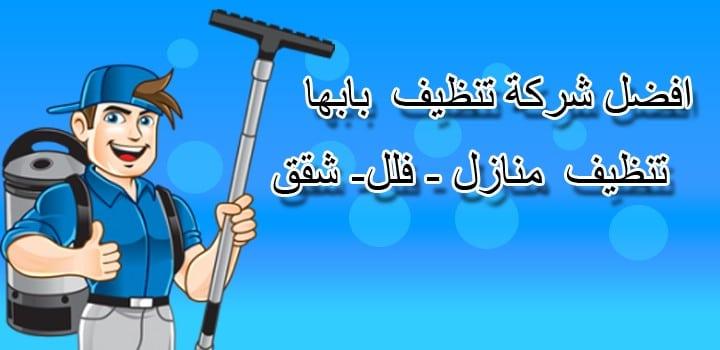 أفضل شركة تنظيف بابها ( لايجار 00201011916991 ) شركة تنظيف